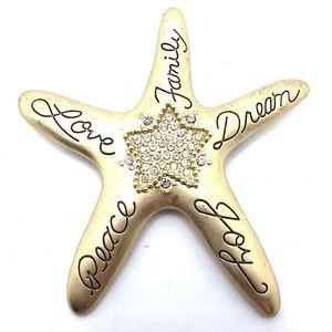 2017 CHICOs Brooch Pin Pendant Starfish Joy Peace